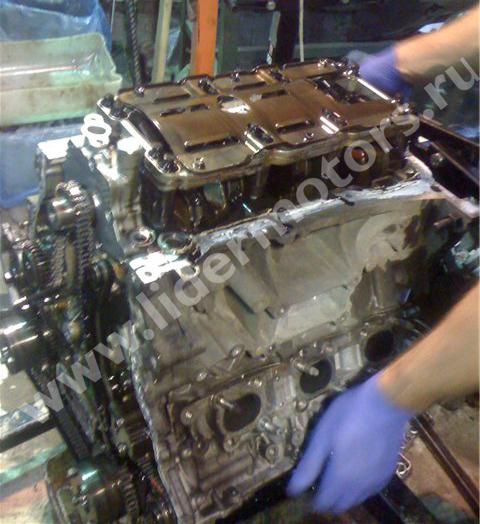ремонт двигателя Инфинити