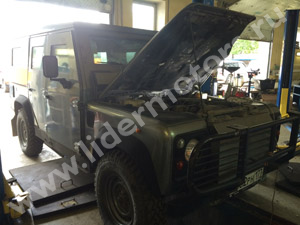 Ремонт Land Rover Defender