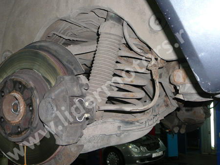 ремонт подвески Мерседес