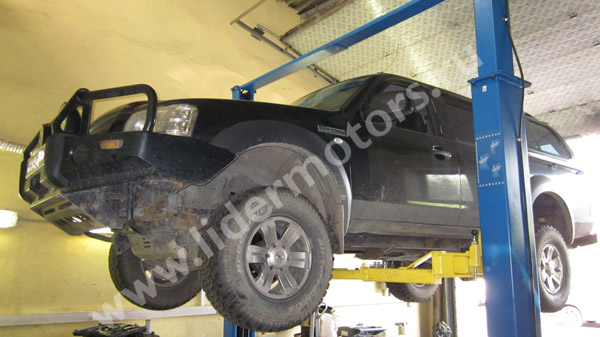 ремонт двигателя Форд
