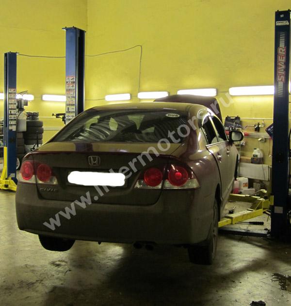 ремонт рулевой рейки Хонда