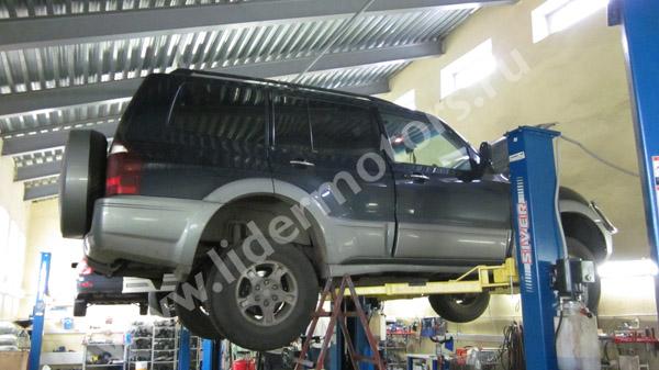 ремонт рулевой рейки Мицубиси