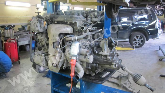 ремонт двигателя Nissan X-Trail