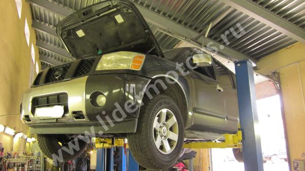 ремонт рулевой рейки Nissan Armada