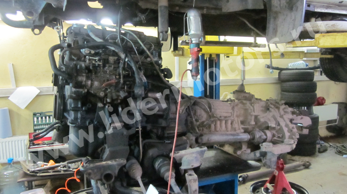 Ремонт двигателя Mitsubishi Delica