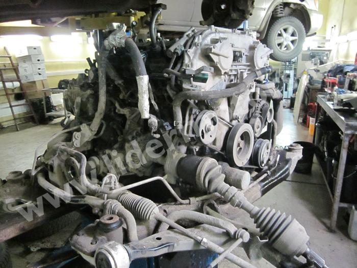 Ремонт двигателя VQ35