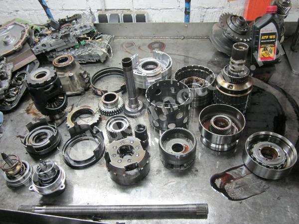 ремонт автоматической коробки Вольво