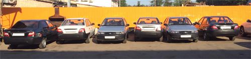 Аренда автомобиля Дэу Нексия в Москве