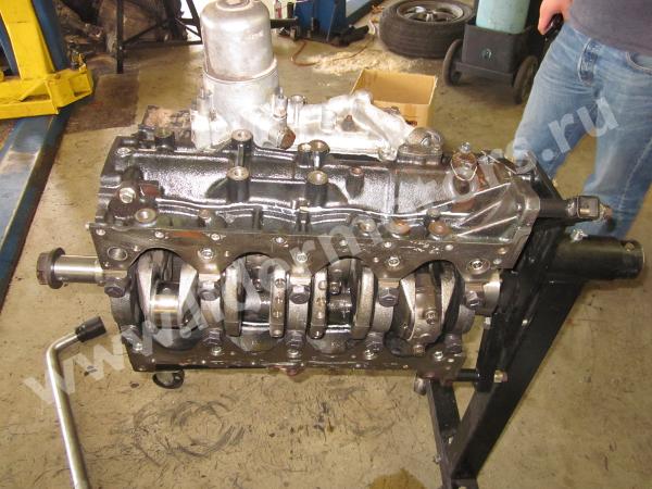 ремонт двигателя ZD30 Ниссан Патрол