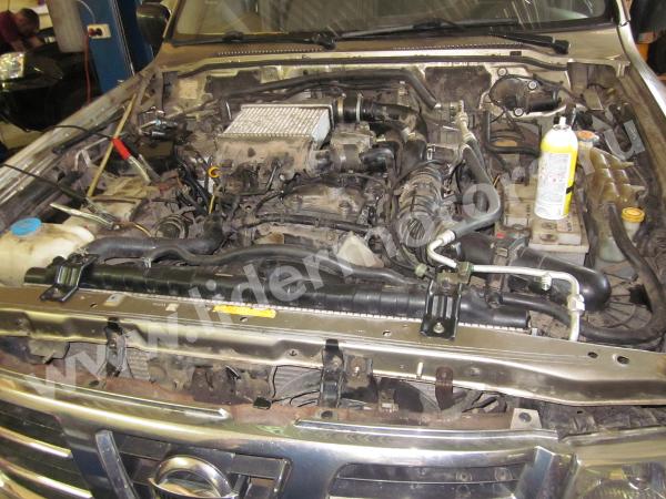Ремонт двигателя ZD30